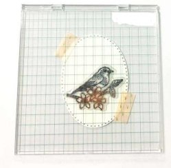 Clear Stamp Stamping Press Tool for Card Making
