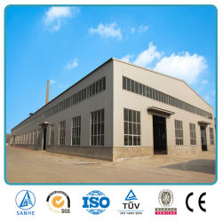 Prefabricated High Rise Wide Span Lightweight Industrial Steel Structure Portal Frame Factory Building Used Metal Commercial Warehouse Storage Sheds