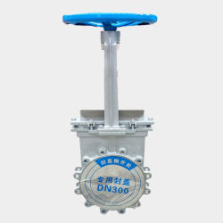 Stainless Steel Knife Gate Valve for Water/ Pulp/Slurry Related Industries