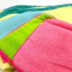 Microfiber Wash Colored Microfiber Dish Sponge Cloth