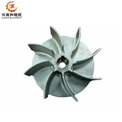 Steel Investment Casting Water Pump Impeller