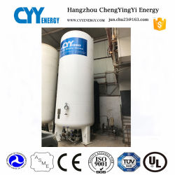 2018 Vacuum Powder Insulation Liquid Oxygen LNG LPG CO2 Storage Tank with ASME Standard