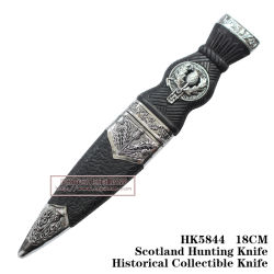 Hunting Knives Tactical Knives Fixed Blade Collection Knives 18cm
