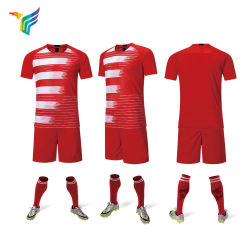 60b32e25c Wholesale New Design Dry Fit and Red Team Man United Football Sublimated  Printing Blank France Kids