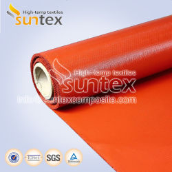 2388cfc03ddc Anti Fire Thermal Insulation Welding Protection Silicon Fabric Fiberglass  Production