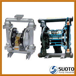 2 Inch PP/Aluminium/Stainless Steel Pneumatic (Air Operated, QBY type, Graco) Double Diaphragm Pump, Slurry Pump, Chemical Pump
