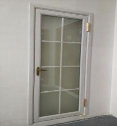Guangzhou Zhengyi Factory Direct Price Wooden Anodized Aluminum Glass Casement Swing Door for Wholesale