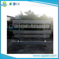 Space Saver Indoor Gym Seating for Sale Bleacher System for Yogo Teacher