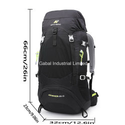 Nevo 50L Outdoor Light-Weight Nylon Sports Hiking Travel Backpacks Bag