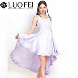 277e63f3c93 High and Low Ruffles Designer Women Dress Dongguan Factory