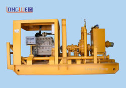 Skid Mounted Diesel Driven Mud Pump