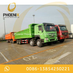 Low Price Good Condition Used HOWO Dump Truck 12 Tyres 8X4 Tipper for Dr Congo
