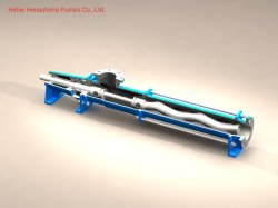 High Precision Slurry Mud Mechanical Seal Mono Screw Pump