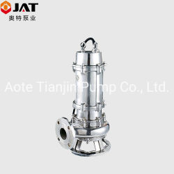 Non-Clog Waste Water Centrifugal Sewage Submersible Drainage Pump with Auto Coupling (WQ) , Pond Pump, Garden Pump, Submersible Pump, Slurry Pump