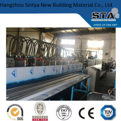 ISO Colored Metal Ceiling T Grid Hydraulic Pressure Roll Forming Machine