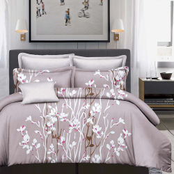 Reactive Printed Cotton Bed Sheets With Pillow Shams