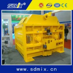 Ktsa2000 Cement Construction Machinery Twin Shaft Concrete Mixer