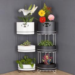 Home Garden Metal Garden 2~3-Tier Flower Shelf