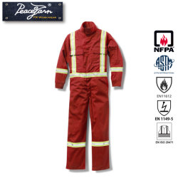 5aaecd463280 Protective Safety Coverall   Overall with Fire Retardant for Nfpa Standard