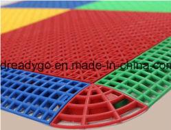 Interlocking Sports Flooring Tiles, Kindergarten Floor Protection