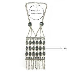 Bohemian Crystal Style Fashion Accessories Necklace 2018 Bohemia Jewelry Fashion Tassel Jewellery Boho Jewelry Set