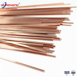Free Sample Bcup2 Rings Copper Tube Filler Metal Copper Phosphorus Brazing Wire Cheap Rod Price Electrodes Welding TIG Weld Rod