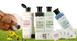 Sos Grooming Dog Hair Clear Shampoo for Pet Shampoo