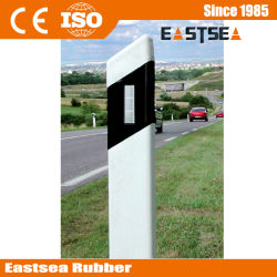 Double Side PVC Plastic Reflective Road Triangle Guide Post