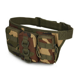 Wholesale Camel Army Green Black Waterproof Fanny Packs Custom Logo Men Sport Army Military Outdoor Tactical Belt Bum Waist Bag