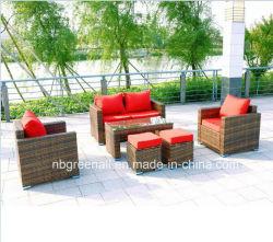 New Design Modern Patio Rattan/Wicker Leisure Outdoor Garden Sofa Furniture