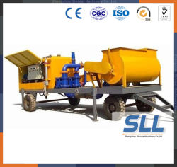 Hydraulic Pressure Foam Cement Pump for Concrete Making Machine