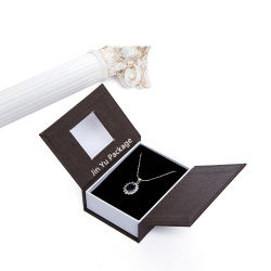 Two Doors Gift Paper Jewellery Packing Boxes Set Wholesale