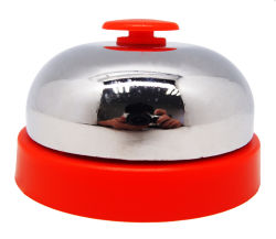 Metal Desk Bell for Counter or Desk Service