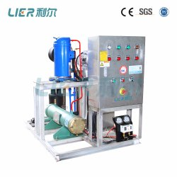 Flow Slurry Ice Machine for Fishery, Seafood Trawlers 5t/Day