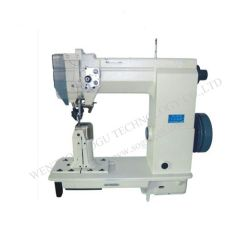 Single Needle Post Bed Lockstitch Industrial Shoe Leather Sewing Machine