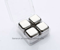 Stainless Steel Ice Cube Whisky Wine Stone