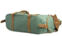 Canvas Leather American Travel Style Sport Leisure Duffle Bag (RS-1801)