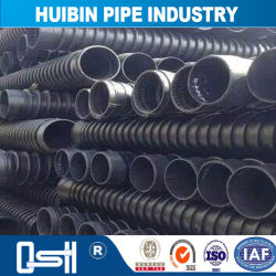 HDPE Environmental Plastic Drainage Krah Pipe with Tread Connection