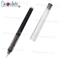Office Supply Customized Logo Advertising Roller Pen X55 From Snowhite
