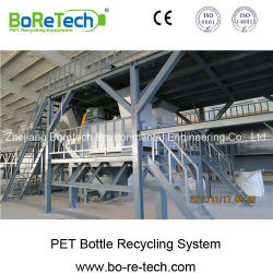 Tl3000 Pet Bottle Recycling Line Plastic Flakes Washing Machine