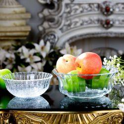 Wholesale Round Shape Decorative Clear Glass Sugar Bowls