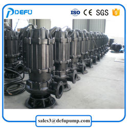 Stainless Steel Dirty Water Transfer Submersible Sewage Pump for Slurry