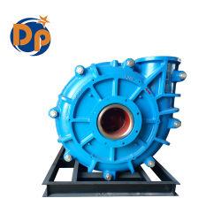 Single Stage Horizontal Slurry Pump, Electric Motor Driven Pump, High Chrome Mining Pump