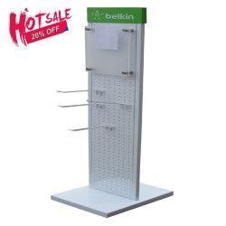 Wholesale Merchandising Unit Peg Rack Metal Display Shelf