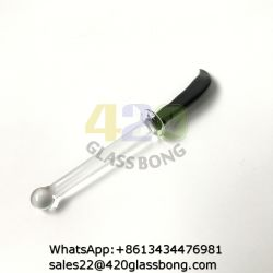 Wholesale Glass DAB Tools with Knife Style for Glass Bowl Nail Jlh-58