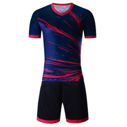Design Your Logo Sublimated Soccer Suit Sportswear with Wholesale Price