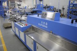 Content Labels/Cotton Tapes Screen Printing Machine Spe-3000s-2c