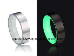 Luminous Carbon Fiber Ring Luminous Epoxy Ring Glow in The Dark