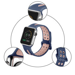 High Quality Silicone Sport Watchband for Apple Watch Strap