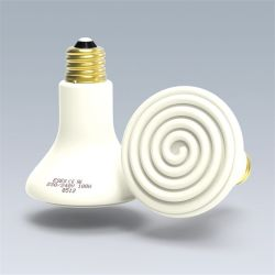 Far-Infrared Ceramic Heat Emitter Light